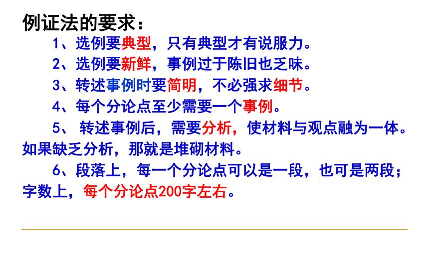 2021届高考语文 作文指导高考议论文结构 课件(41张PPT)