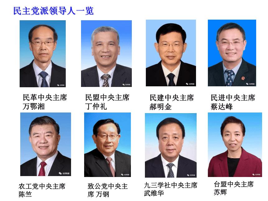 高中政治必修二7.1中国特色社会主义政党制度课件(共25张PPT)