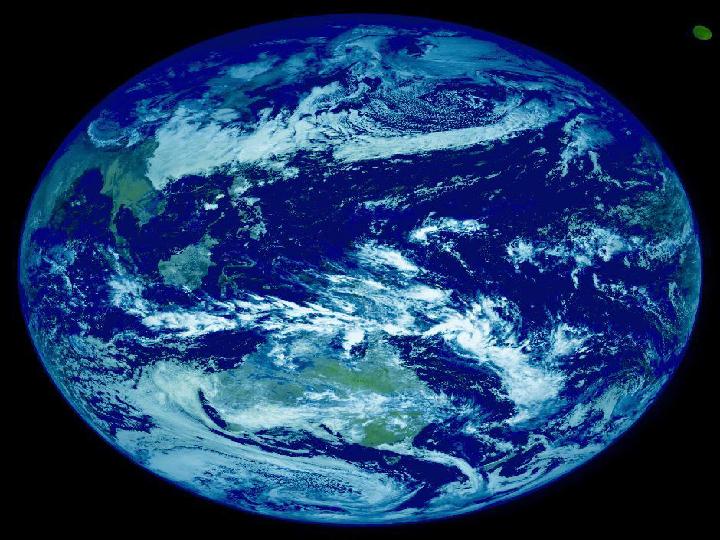 四年级下册语文课件-4.13 地球只有一个丨语文A版 (共31张PPT)