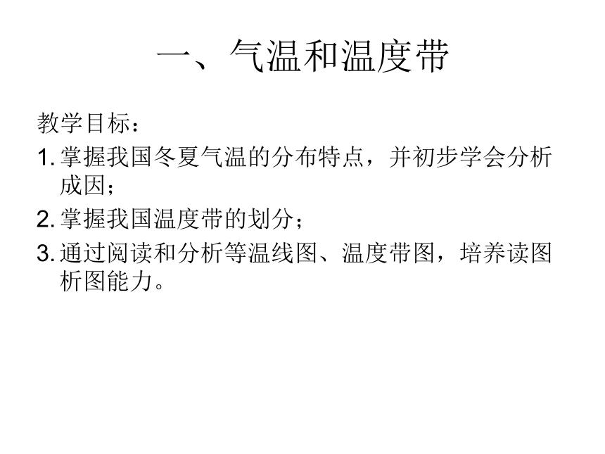 初中地理一轮复习《中国的气候》(48张ppt)