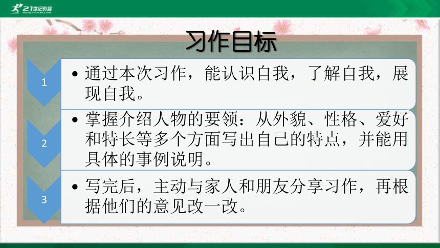 """人教统编版语文四年级下册 第七单元习作:我的""""自画像"""" 课件(共33张PPT)"""