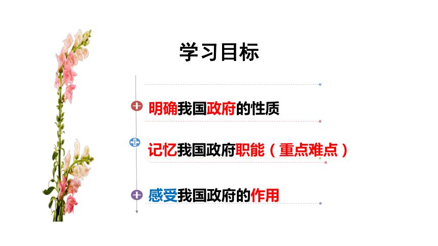 高中政治人教版必修二政治生活 3.1 政府:国家行政机关 课件(共34张PPT)