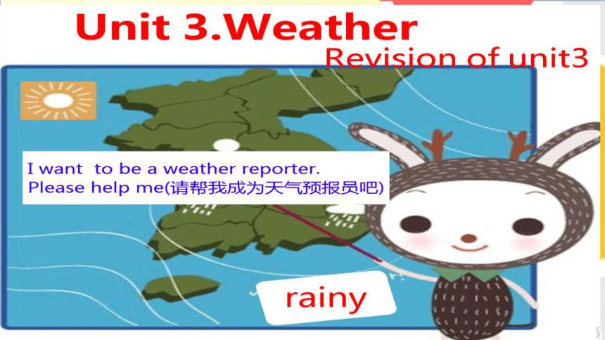 Unit 3 Weather 复习课件(希沃版+图片版PPT)