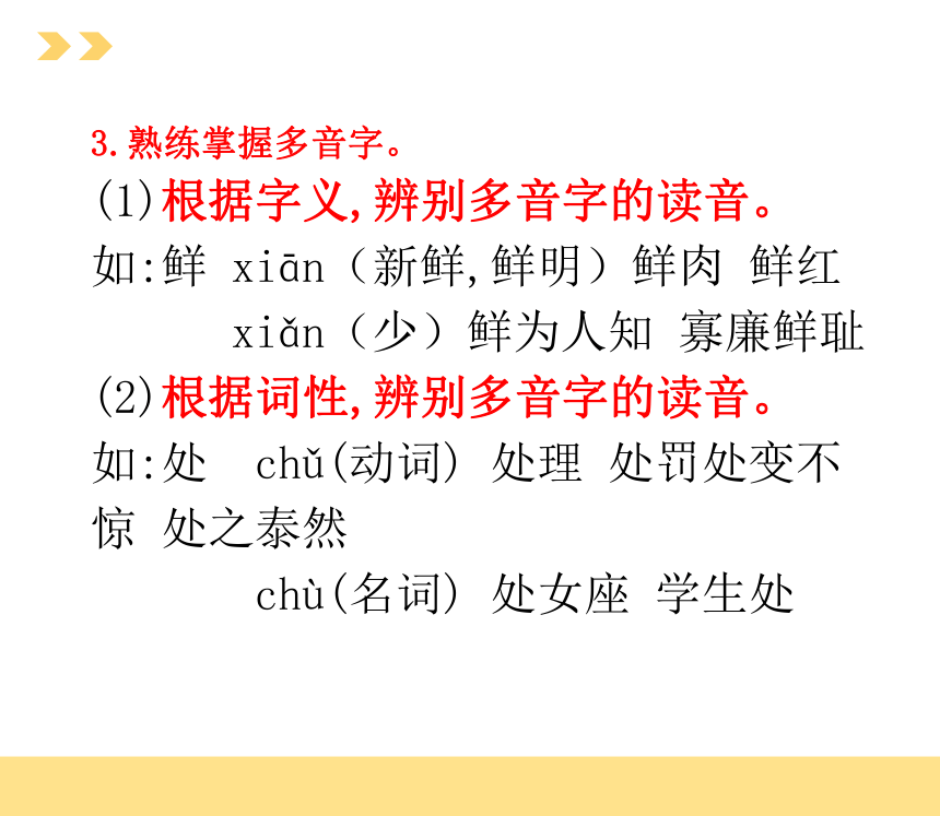 2021年中考语文二轮 基础知识专项之:字音、字形 课件(63张PPT)