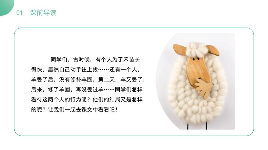 12.《亡羊补牢》《揠苗助长》 课件(22张ppt)