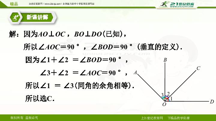 5.1.2 垂线 第一课时 (课件)