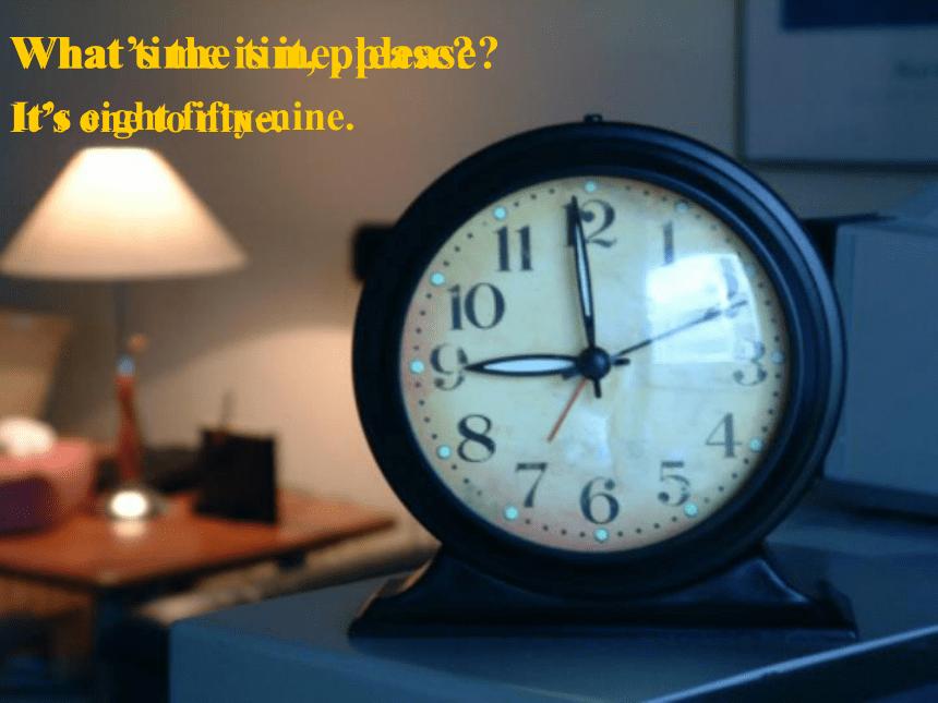 2020-2021学年人教版英语七年级下册Unit2 What time do you go to school? Section B 1a—1e课件(共22张PPT)