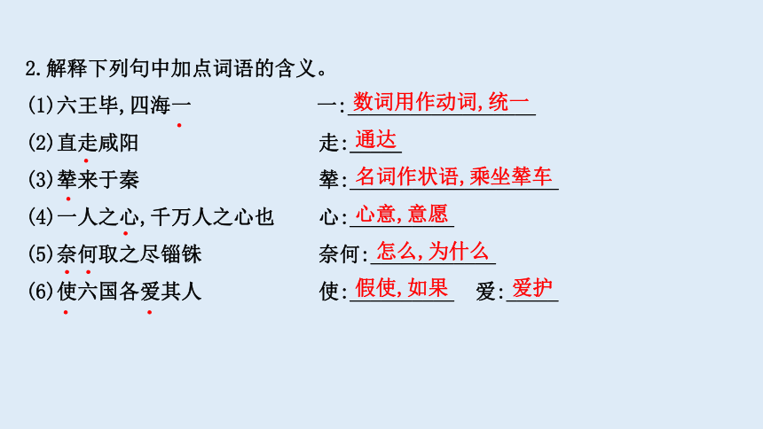 高中语文16《阿房宫赋》《六国论》课件(67张)