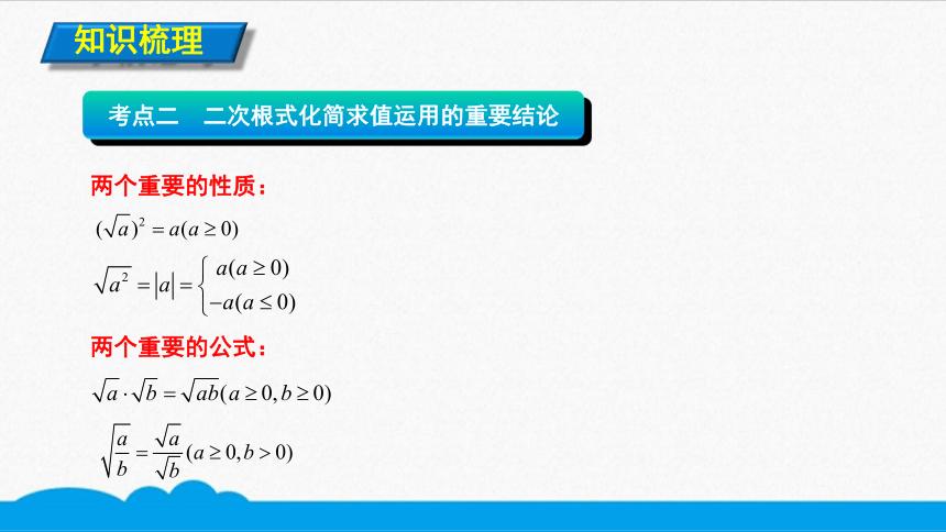 初数八下 知识点精讲 二次根式的化简求值(共9张PPT)