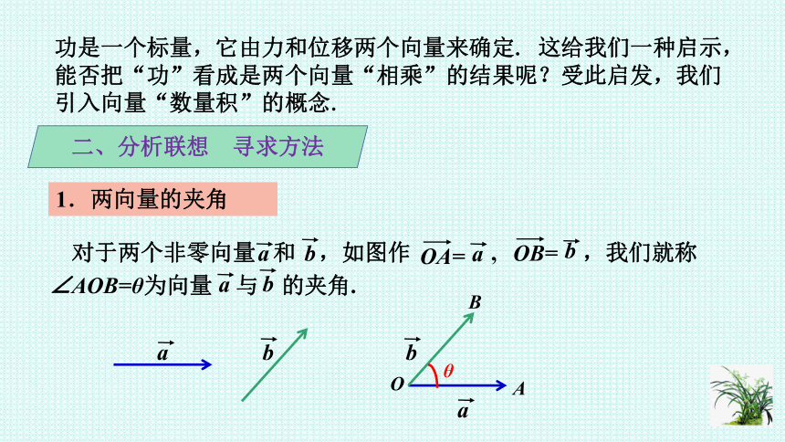 6.2.4向量的数量积课件-2020-2021学年高一下学期数学人教A版(2019)必修第二册(23张PPT)