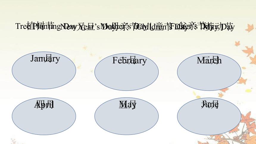 Unit 3 My school calendar Part B Let's try & Let's talk课件(共16张ppt)