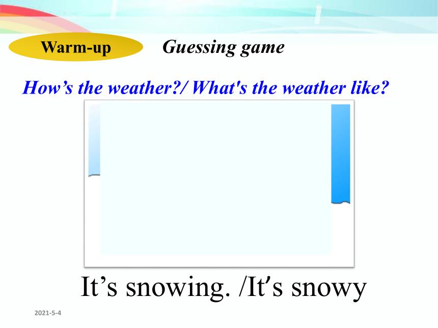 Unit 7 It's raining! Section A Grammar Focus-3b 课件(共26张PPT)