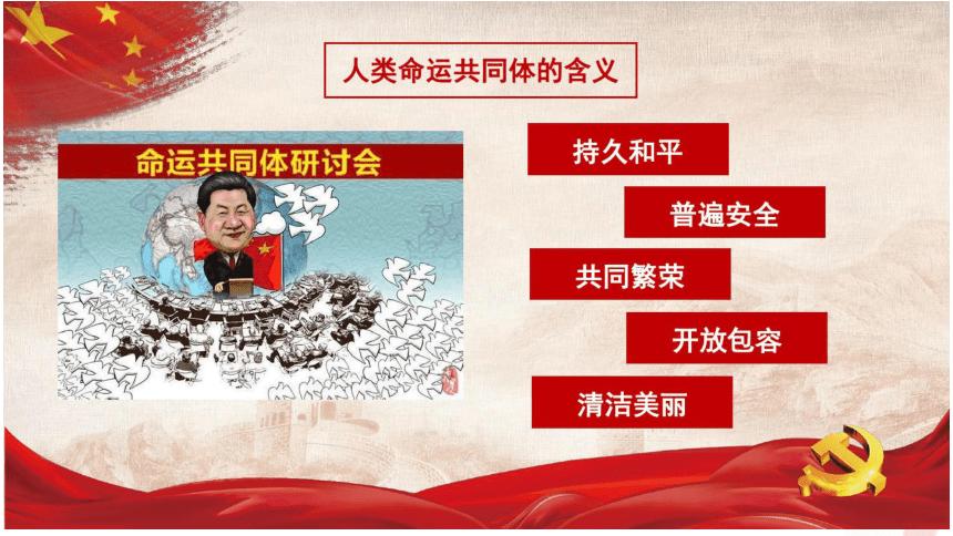 高中政治人教版必修二政治生活 综合探究 中国坚持和平发展道路 推动构建人类命运共同体 课件(共27张PPT)