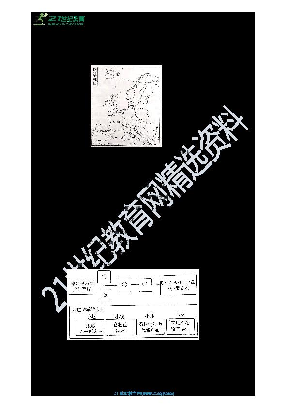 【备考2020】中考地理一轮复习:第七章第三讲  西亚和欧洲西部  第2课时(重点回顾+中考经典测试)