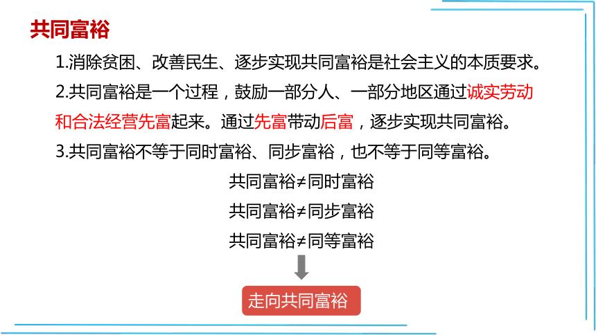 【九上道法最新教学课件】1.2走向共同富裕课件(36张PPT)+3个内嵌视频
