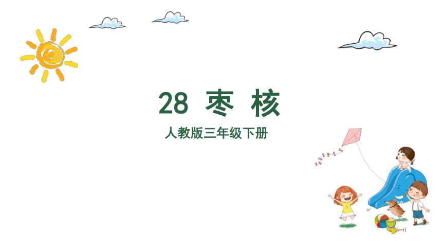 28枣核(1课时) 课件 (共29张 )