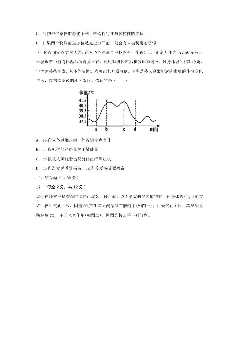 2021年 广东省高考压轴模拟卷 生物  Word版含解析