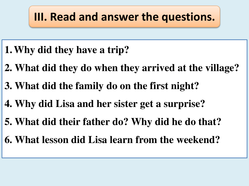 Unit 12 What did you do last weekend? Section B Reading 课件(共19张PPT;无音视频)