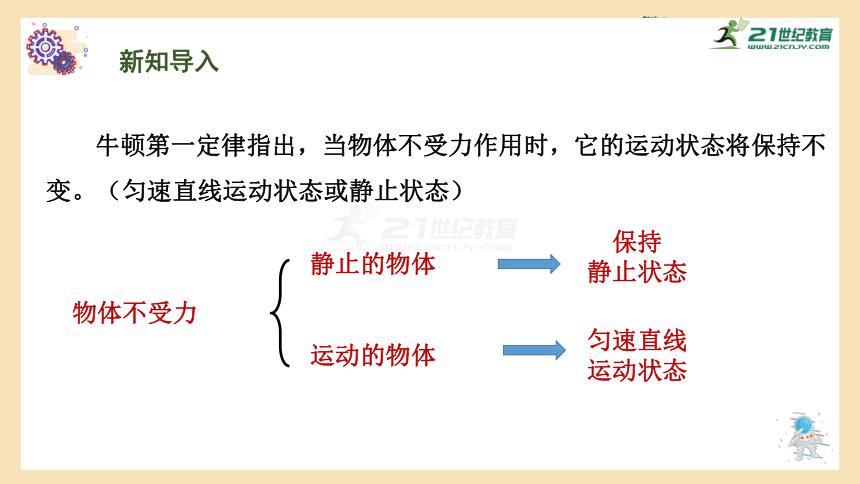 粤沪版初中物理八年级下册 7.4 物体受力时怎样运动(共40页ppt)