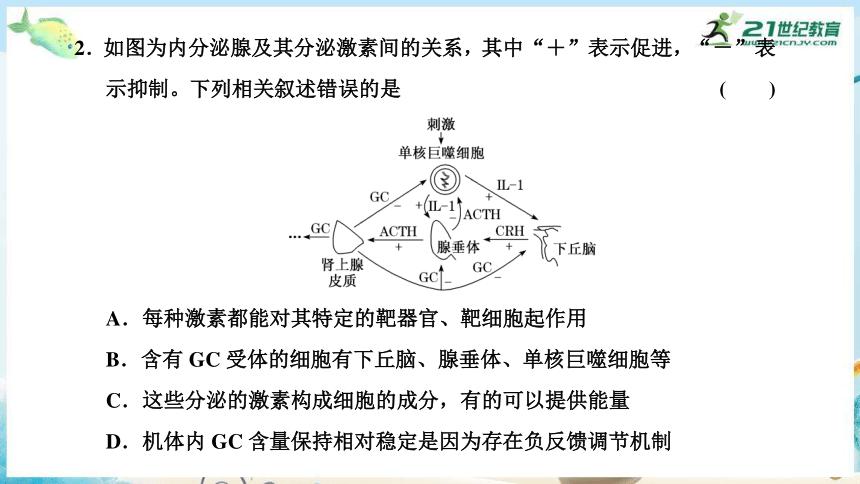"""高三生物三轮复习专项突破11  生命系统中""""反馈调节""""(共19张PPT)"""
