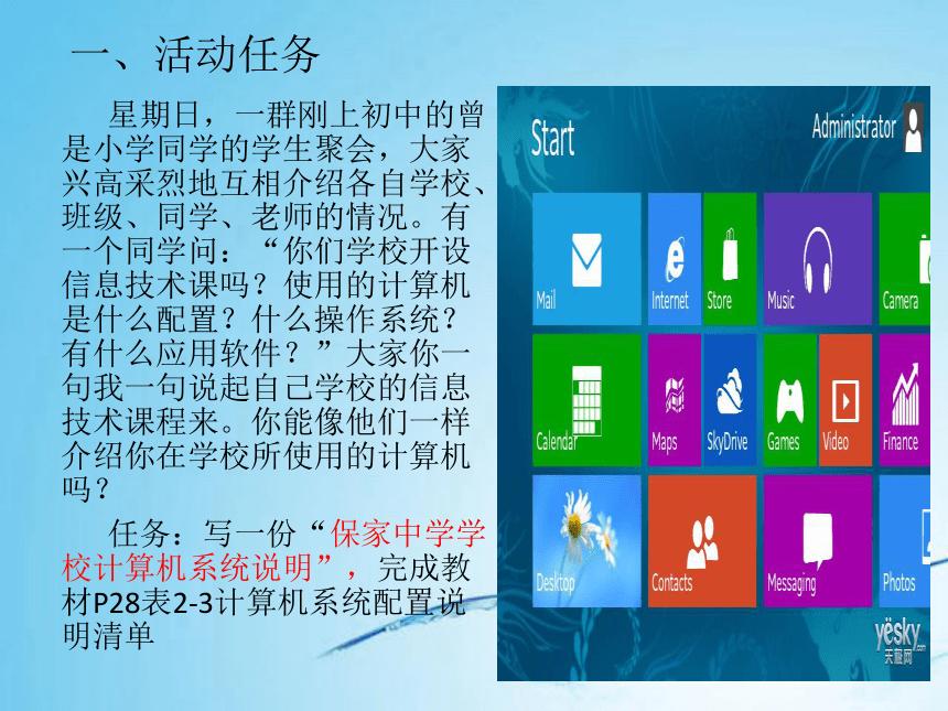 第5节 使用操作系统-系统认识计算机 课件(共17张PPT)