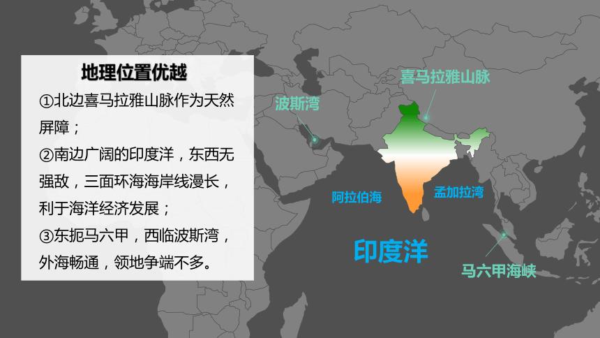 【推荐】人教版七下地理7.3印度复习课件(共22张PPT)