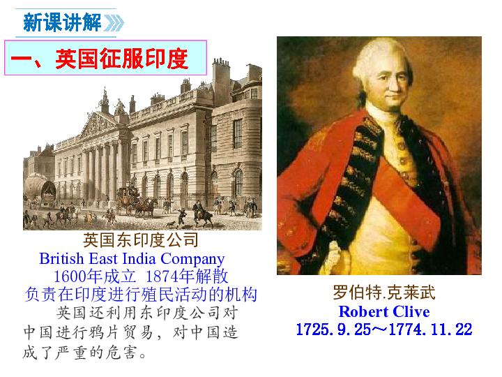 第21课 印度的殖民化和印度人民的抗英斗争 课件(共16张PPT)