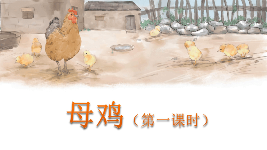 14 母鸡   课件(2课时 36张ppt)