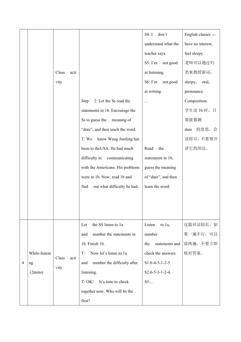 Unit 3 Topic3 Could you give us some advice on how to learn English well?section A 教案