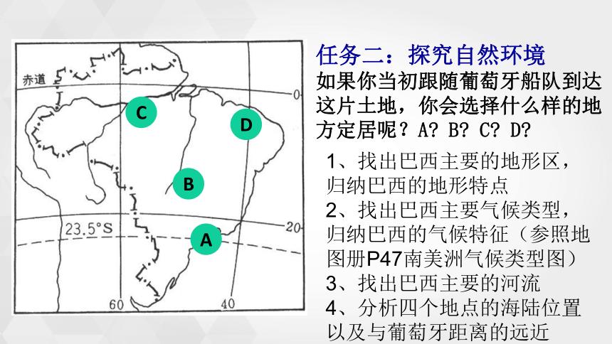商务星球版地理七年级下册 8.5巴西 课件(共20张PPT)